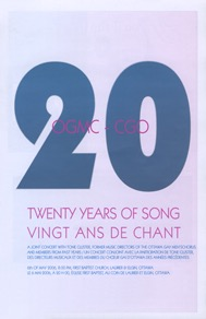 Twenty Years of Song